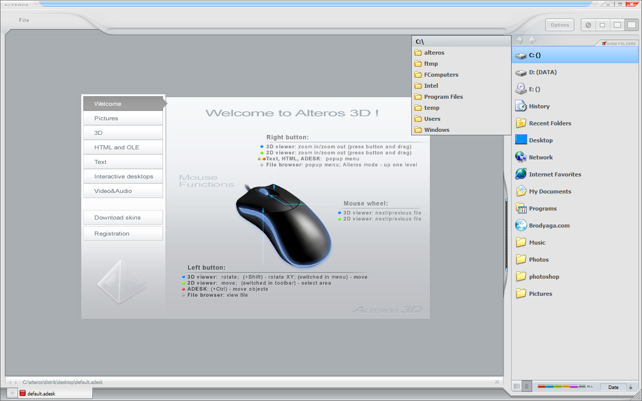 Alteros 3D Screenshot